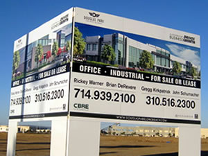 commercial Property Leasing Signs