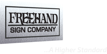 FreeHand Sign Company-exterior and interior business signs in Orange County, CA