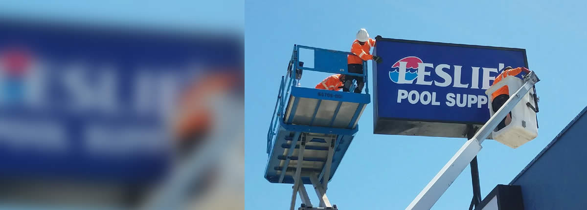 Sign Installation and service